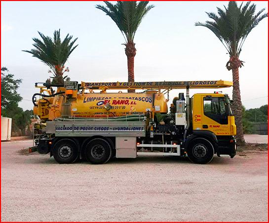 Transporte de residuos peligrosos en Murcia