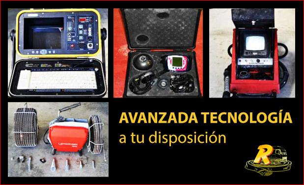 Desatascos Murcia Inspección con cámaras TV